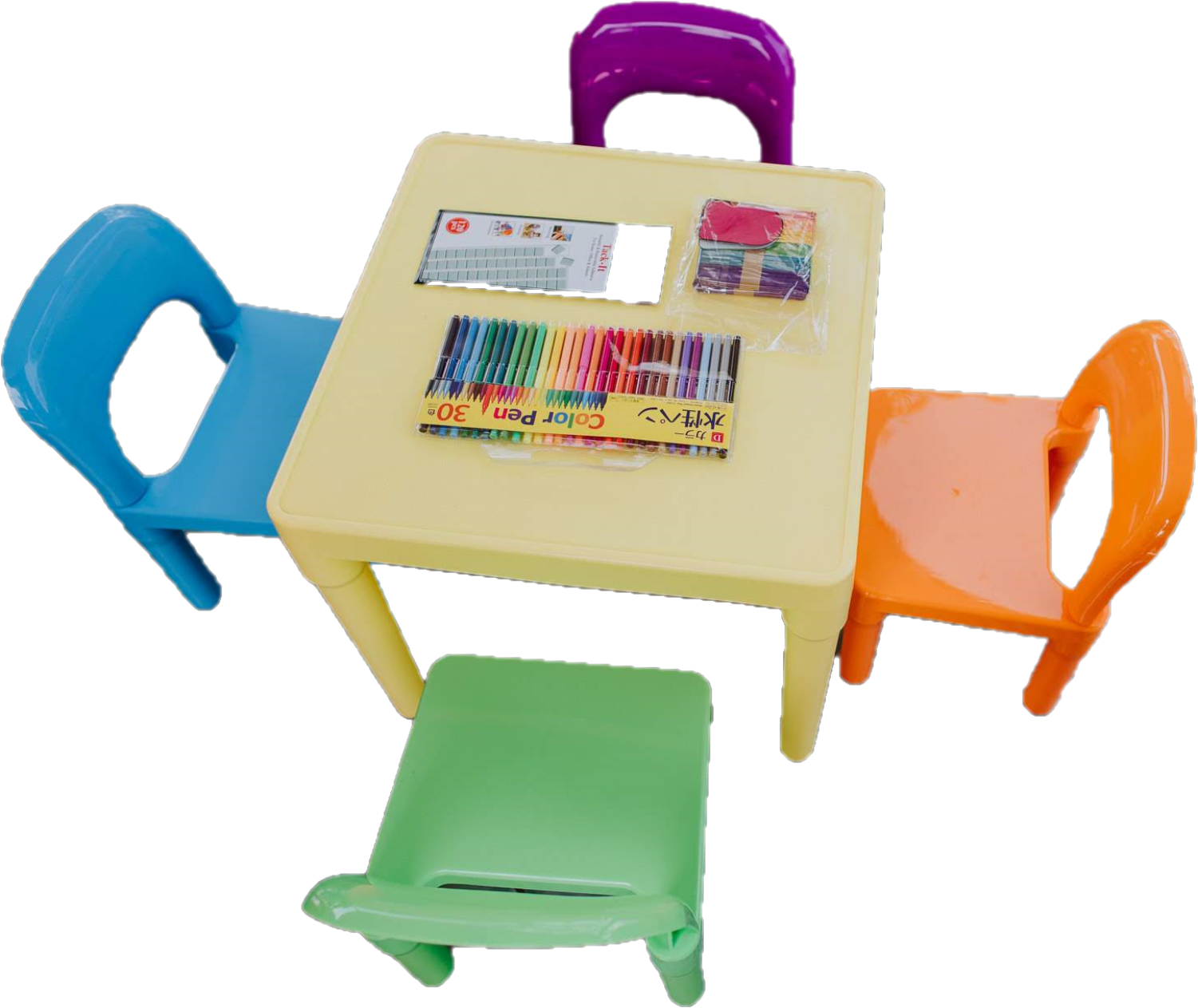 Kiddie Table and Chairs