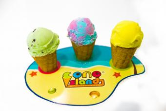 cone island mini ice cream